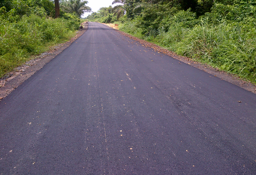 Completed 8KM Access Road
