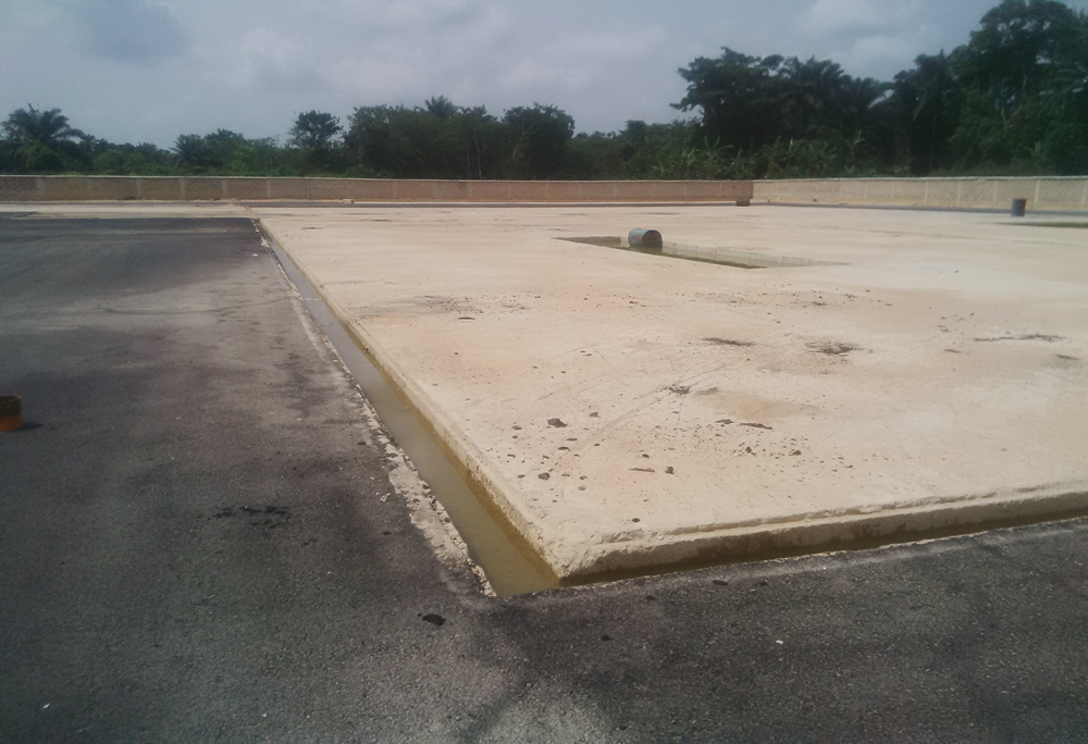 Construction of Drilling Location at Egbema West