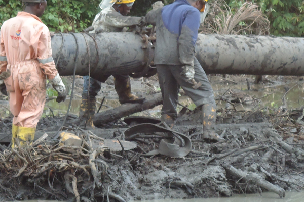 Ongoing Pipeline Construction Calabar